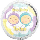 "18"" New Baby Twins Balloon"
