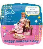 "18"" Barbie Mother&#39s Day Balloon"