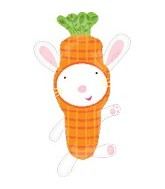 "30"" Carrot Bunny Supershape Balloon"