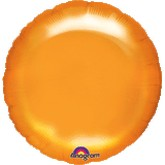 "18"" MagiColor Blossom Dark Orange Balloon Circle"