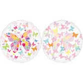 "25"" Bunch Of Butterflies Clear Balloon"
