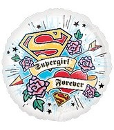 "18"" Supergirl Forever Theme Balloon"