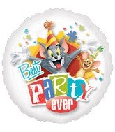 "18"" Tom & Jerry Best Party Ever Balloon"
