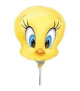 (Airfill Only) Tweety Head Balloon Shape