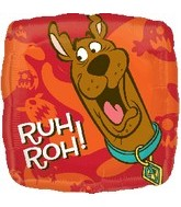 "18"" Scooby-Doo Balloon Ruh Roh! Square"