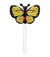 "11"" U-Inflate Yellow Butterfly (Single Pack)"