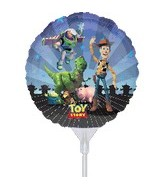 "9"" EZ Fill Airfill Toy Story With Sticks (3 Pack)"