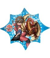 "35"" Bakugan Shape Balloon"
