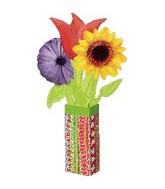 "29"" U-Inflate Floral Balloon Bouquet"