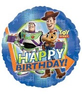 "18"" Disney Toy Story HBD Party Balloon"