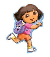"32"" Dora Exploring Balloon"