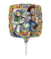 "9"" Mini Balloon (Airfill Only) Toy Story Group"