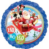 "18"" Mickey Clubhouse Santa"