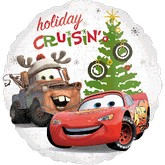 18&#39&#39 Cars Happy Holidays