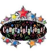"31"" Congratulations Balloon Marquee"