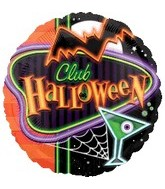 18&#39&#39 Club Halloween Balloon