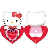 "29"" Jumbo Hello Kitty Balloon Lovin&#39"