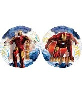 "26"" See Through Iron Man 2 Balloon"