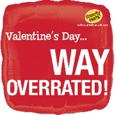 "18"" Smarty Pants Valentine&#39s Way Overrated"