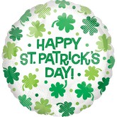 "18"" Happy St. Patricks Day Balloons"