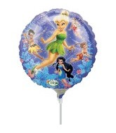 "9"" Mini Balloon (Airfill Only) Disney Fairies"