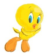 "30"" Tweety Full Body Flying Jumbo Balloon"