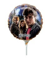 "9"" Mini Balloon (Airfill Only) Harry Potter Group"