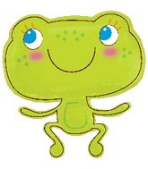 "24"" Jumbo Cute Froggy Foil Balloon"