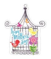 "28"" Happy Mother&#39s Day Bird Cage Balloon"