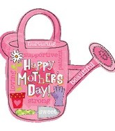 "28"" Happy Mother&#39s Day Watering Can Balloon"