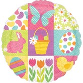"18"" Easter Symbols Balloon"