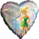 "18"" Tinkerbell Holographic Balloon"