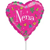 "9"" Airfill Only Heart Nena"