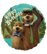 "18"" Yogi Bear Movie Birthday Balloon"