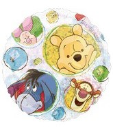 "18"" Winnie the Pooh Holographic Party"