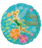 "18"" Disney Fairies Tink Happy Birthday"