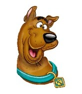 "33"" Scooby-Doo Balloon Head Shape"