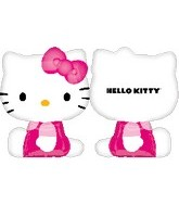 "27"" Jumbo Hello Kitty Balloon Shape"