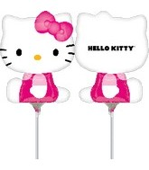 (Airfill Only) Hello Kitty Balloon Shape (Side Pose)