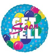 "18"" Get Well Bold"
