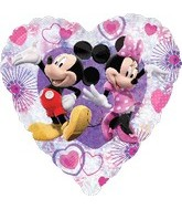 "18"" Mickey Mouse & Minnie Holographic"
