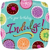 "18"" It&#39s Your Birthday, Indulge! Balloon"