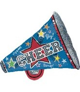 "29"" Holographic Megaphone Cheer"