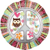 "32"" Hippie Chick Birthday Girl Jumbo InLiners"