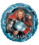 "18"" Thor Movie Mylar Balloon"