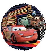 "18"" Disney Cars McQueen & Party Balloon"
