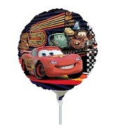 "9"" Mini Balloon (Airfill Only) Cars McQueen"