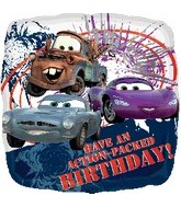 "18"" Disney Cars Action-Packed Birthday"