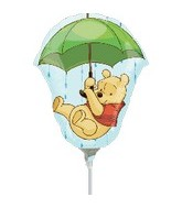 (Airfill Only) Winnie the Pooh Balloon Umbrella