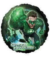 "18"" Green Lantern Mylar Balloon"